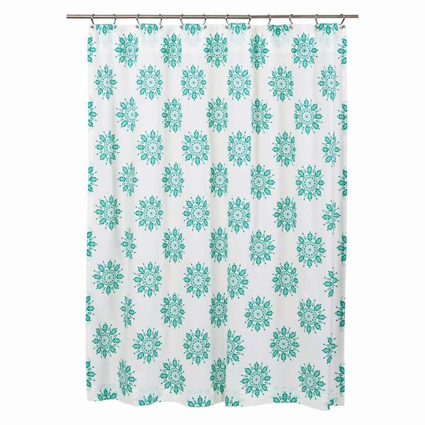 Sheppard 100% Cotton Shower Curtain by Alcott Hill